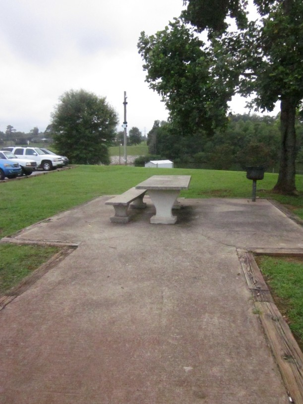 There are several smaller picnic areas, complete with a good old fashioned charcoal grill.