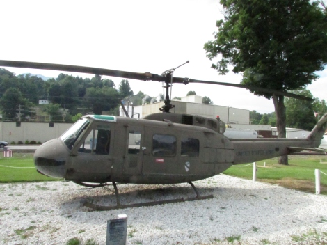 This is a UH-1H Iroquois helicopter, aka the Huey.